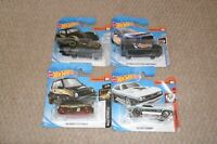 HOT WHEELS JOB LOT/COLLECTION OF 4  NEW MIXED CARS