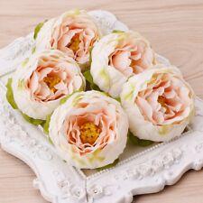 5pcs/Lot Artificial Silk Flower Peony Flowers Wedding Bridal Home Decor