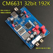 CM6631A digital interface USB to I2S / SPDIF coaxial output 32 / 24Bit 192K