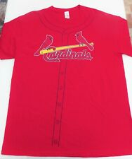 st louis cardinals coca cola t shirt youth XXL