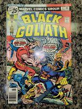 "BLACK GOLIATH #3, VF/NM (9.0), 1976, Marvel, ""Dance to the Murder!"" -"