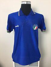 Italy Home Football Shirt Jersey 1986-1990 (L)
