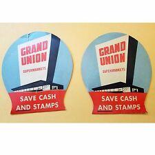 Vintage, Advertising, Grand Union Supermarkets, Save Cash & Stamps, Needle Set