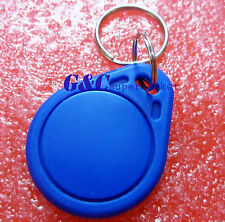 100PCS RFID IC Key Tags Keyfobs Token NFC TAG Keychain 13.56MHz NEW M93