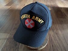 U.S Military Eighth 8Th Army Hat U.S Military Official Ball Cap U.S.A Made