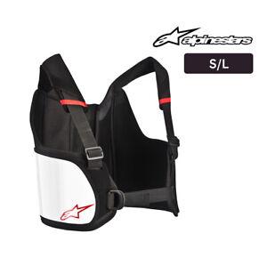 Go Kart - ALPINESTARS Bionic Rib Support - Black/White - S/L