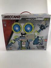 MECCANOID G15 PERSONAL ROBOT Meccano Tech INTERACTIVE Building Set 15401