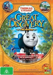Thomas & Friends - The Great Discovery (DVD, 2009) Free Post