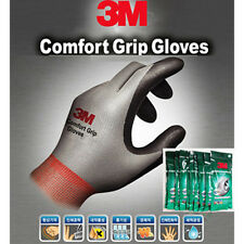 10Pairs 3M Nitrile Foam Coated Comfort Grip Safety Work Gloves 5 Colors CGGGREL