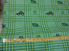 JOHN DEERE fabric TRACTOR Fabric PATTERN CP59372 BTY NEW