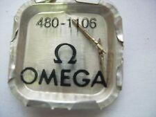 lot x2 piéces part Omega 480 - 1106 tige de remontoir montre watch swiss 37