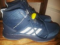 adidas Neo Men's CF executor Mid Basketball-Shoes - BB9902 MID NIGHT BLUE SIZE13