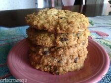 "6 giant 4"" RANGER COOKIES * sugar or sugar-free * oats, chocolate chips, nuts"