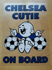 Chelsea FC Car Sticker