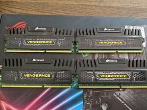 16GB (4x 4GB) Corsair Vengeance DDR3 1600MHz PC3-12800 CL9 Dual Channel Kit