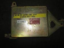 85 86 87 HONDA CRX ECM #37820-PE1-683 *See item description*