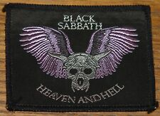 BLACK SABBATH HEAVEN HELL TOUR 1980 EMBROIDERED WOVEN CLOTH SEWING SEW ON PATCH
