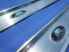 1968-72 A Body Fisher Door Sill Scuff Plates GM Licensed TrimParts NEW RELEASE