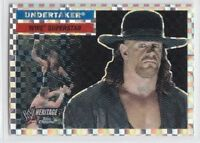 THE UNDERTAKER 2006 Topps WWE Heritage *X-FRACTOR* Trading Card #52  (Rare!)
