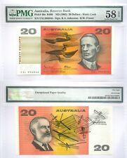Australia 20 AU$ PMG Banknote 1985 AU 58 EPQ SN:EXL996846 Pick # 46e R409 ND