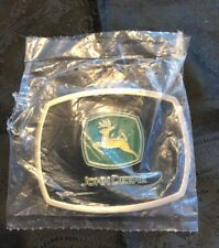 John Deere Collectible Vintage Belt Buckle from Year 2000 New in sealed package