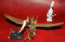 Warhammer Fantasy High Elf Warden Prince On Griffon & Mage (painted) plastic