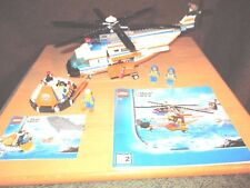 LEGO - City - GUARDIA COSTERA Helicóptero - N º 7738 con ba