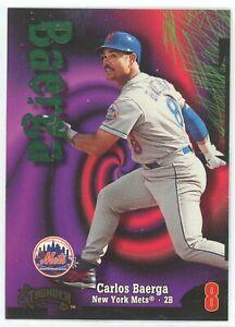 1998 SkyBox Circa Thunder Baseball New York Mets Team Set