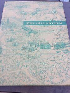 1953 Adytum Denison University Granville Ohio Yearbook Lot B3