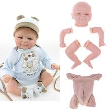 """Silikon 18 """"Reborn Kits unlackiert vollständige Gliedform & Tuch Körper"""