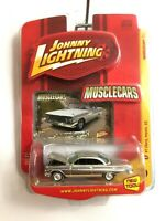Johnny Lightning Muscle Cars 1961 61 Chevy Impala SS Chrome Die Cast 1/64 Scale