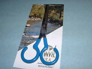 "Anvil USA 55-T 5"" Taperizer Blender Scissors Fly Tying Crafts Made in USA"