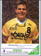 Wallau-Massenheim Autogrammkarte Handball Handsigniert Dirk BEUCHLER Original