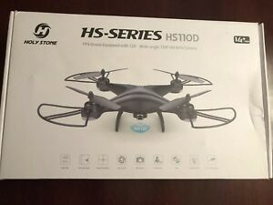 Holy Stone HS-Series HS110D FPV Drone 120 Degree Wide Angle 720P HD WiFi Camera