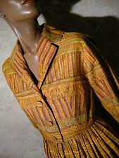 CHIC VINTAGE ROBE 1950 ZAZOU VTG DRESS 50s KLEID 50er ABITO ROCKABILLY (38)