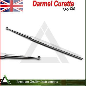 Surgical Dermal Curette Dermatology Laboratory Stainless Steel Instruments