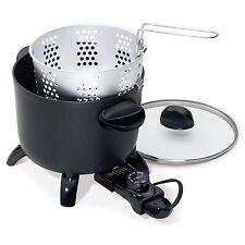 Presto Kitchen Kettle Electric Multi Cooker Roaster Steamer Deep Fryer Blanching