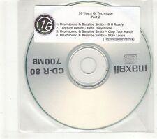(GT652) 10 Years Of Technique Part 2, Drumsound & Bassline Smith - DJ CD