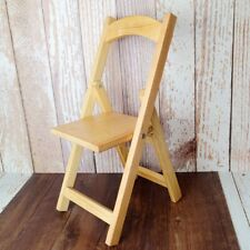"Wood Folding chair Stool Furniture For 1/3 24"" 70cm SD17 BJD SD LUTS DK DOll"