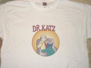 DR. KATZ Television T-SHIRT Tom Snyder   H. Jon Benjamin