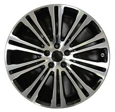 "19"" Chrylser 300 AWD 2012 2013 2014 Factory OEM Rim Wheel 2419 Black MACHINED"