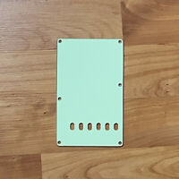 Mint Green 3-Ply Back Plate Tremolo Cover for USA MIM Fender Strat NEW