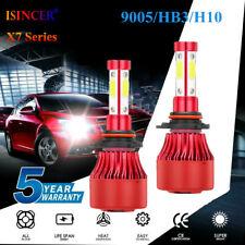 New listing 2400W 4-Side 9005 Led Headlight Hb3 9145 Kits 340000Lm Bulbs Power 6000K White~