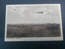 Nederland Ansichtkaart legerplaats OLDEBROEK verzonden 20.4.1925