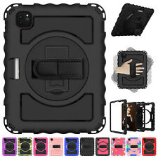 For iPad Air 2 Case Armor Shockproof Rotating Heavy Duty Stand Rugged Hard Cover