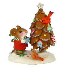 Wee Forest Folk Christmas - The Littlest Pine Cone Tree TM-6