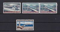 GREECE AIR STAMPS , 1958 GREEK PORTS . UNMOUNTED MINT CAT £120  REF  R1261