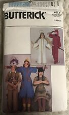 Butterick pattern #4073 size L costume Thanksgiving Native American Angel Devil