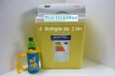 Frigorifero Mini Frigo Portatile con Spinotto per Accendisigari Elettrico a 12V