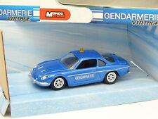 Mondo 1/43 - Alpine Renault A110 Gendarmerie